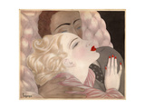 Love by Le Pape Giclee-trykk av  Vintage Apple Collection