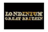 Londinium Great Britian Reproduction procédé giclée par  Whoartnow