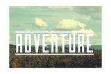Aventura Lámina giclée por  Vintage Skies