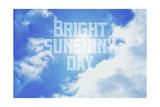 Bright Sunshiney Day Giclée-Druck von  Vintage Skies