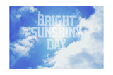Bright Sunshiney Day Stampa giclée di  Vintage Skies