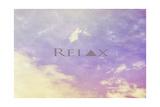 Entspannen Giclée-Druck von  Vintage Skies
