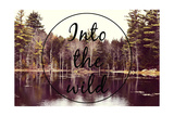 Into the Wild Giclée-Druck von  Vintage Skies
