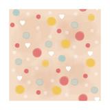 Polka Dots Reproduction procédé giclée par Valarie Wade
