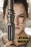 Star Wars The Force Awakens- Rey Teaser Kunstdruck