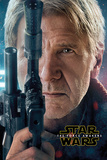 Star Wars The Force Awakens- Hans Solo Teaser Posters