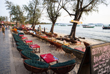 Bars and Restaurants Along Serendipity Beach, Sihanoukville, Cambodia Reproduction photographique par Micah Wright