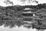 Asia, Japan, Kyoto. Kinkaku-Ji Zen Buddhist Temple Reproduction photographique par Dennis Flaherty