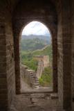 The Great Wall of China Jinshanling, China Fotoprint van Darrell Gulin