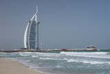 Uae, Dubai. Jumeirah District, Burj Al Arab Hotel Fotografisk tryk af Cindy Miller Hopkins