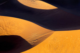 Namibia, Namib-Naukluft Park. Abstract Aerial Image of Sand Dunes Photographic Print by Wendy Kaveney