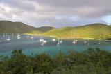 Usvi, St John. Maho Bay Popular Mooring Location and Snorkeling Site Reproduction photographique par Trish Drury