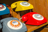 New York City, NY, USA. Reproduction Vintage Telephones Photographic Print by Julien McRoberts