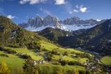 Val di Funes, Santa Maddalena, Dolomites, Trentino-Alto-Adige, Italy Fotografisk trykk av Brian Jannsen