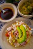 Ceviche, El Pitillal, Puerto Vallarta, Jalisco, Mexico Fotoprint van Douglas Peebles