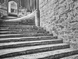 England, Wells Cathedral Chapter House Stairs Photographic Print by John Ford