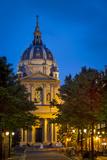 College of Sorbonne, Now a Public University, Paris, France Fotografisk trykk av Brian Jannsen