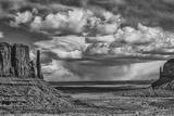 USA, Arizona, Monument Valley Approaching Storm Fotografie-Druck von John Ford