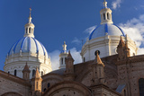 Cathedral of the Immaculate Conception, Built in 1885, Cuenca, Ecuador Fotografie-Druck von Peter Adams