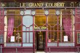 Le Grand Colbert Restaurant in the 2nd Arrondissement, Paris, France Fotografisk trykk av Brian Jannsen