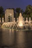 USA, Washington D.C. World War II Memorial Reproduction photographique par Brent Bergherm
