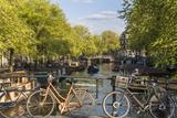 Canal, Amsterdam, Holland, Netherlands Fotografie-Druck von Peter Adams
