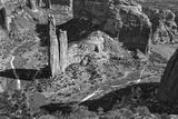 USA, Arizona, Spider Rock, Canyon de Chelly, Band Lámina fotográfica por John Ford