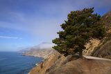 USA, California. Scenic Viewpoint of Pacific Coast Highway 1 Reproduction photographique par Kymri Wilt