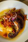 Rio San Pedro Restaurant, Tlaquepaque, Guadalajara, Jalisco, Mexico Fotoprint van Douglas Peebles