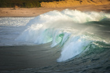 Carmel Beach, California, Breaking Wave Photographic Print by Sheila Haddad