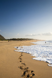The Long Stretches of Beach, Polihale State Beach Park, Kauai, Hawaii Reproduction photographique par Micah Wright