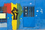 Africa Shop Front, Praia, Santiago, Cape Verde Foto af Peter Adams