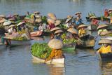 Lok Baintan Floating Market, Banjarmasin, Kalimantan, Indonesia Valokuva tekijänä Keren Su
