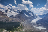 Mt. Andromeda and Columbia Icefield Seen from Wilcox Trail, Jasper NP Fotografia por Howie Garber
