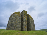 Land Raiders Monument Near Coll and Gress, Isle of Lewis, Scotland Foto av Martin Zwick