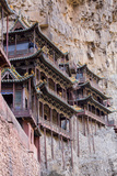 China, Shanxi Province, Hang Shen Mountain, Hanging Palace Foto von Paul Souders