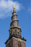 Copenhagen, Denmark, St Annes Church of Our Savior with Steeple Photographie par Bill Bachmann