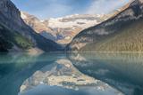Canada, Banff NP, Lake Louise, Mount Victoria and Victoria Glaciers Foto von Jamie & Judy Wild