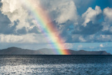 Rainbow Shining over the British Virgin Islands Photographie par James White