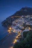 The Amalfi Coast of the Hillside Town of Positano, Campania, Italy Fotografia por Brian Jannsen