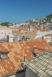 Croatia, Dubrovnik, Old Town Rooftops from the City Wall Foto av Rob Tilley