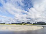 Isle of Lewis, the Uig Bay (Traigh Uuige). Scotland in July Foto av Martin Zwick