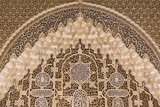 Granada, Spain, Alhambra, Close Up of Architecture in Nasrid Palace Photographie par Bill Bachmann