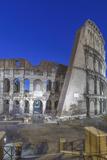 Italy, Rome, Twilight Colosseum Foto av Rob Tilley