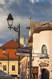 Romania, Maramures Region, Baia Mare, Piata Libertatii Square Photo by Walter Bibikow