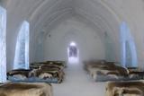 Ice Hotel Church, Jukkasjarvi, Northern Sweden Foto av Peter Adams