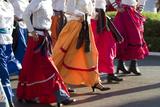 Mexico, Yucatan, Merida, Dancers with Swirling Skirts in Parade Fotografia por John & Lisa Merrill