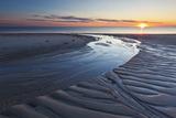 Sand Patterns at Sunset, Bound Brook Island, Wellfleet, Massachusetts Photo by Jerry & Marcy Monkman