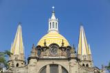 Cathedral on Liberacion Square, Guadalajara, Jalisco, Mexico Foto von Douglas Peebles