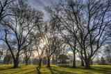 USA, WA, Walla Walla. Pioneer Park Gazebo Photographie par Brent Bergherm